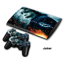 2 styles Joker  Non-slip Waterproof Protective Host Stickers Case 2pcs Controller Stickers Skins for SONY PlayStation 3 PS3