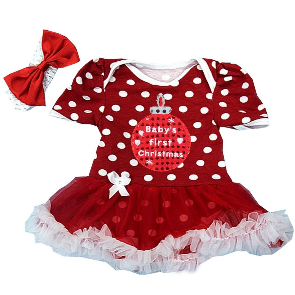Aliexpress Buy Baby Girl Clothes First Christmas