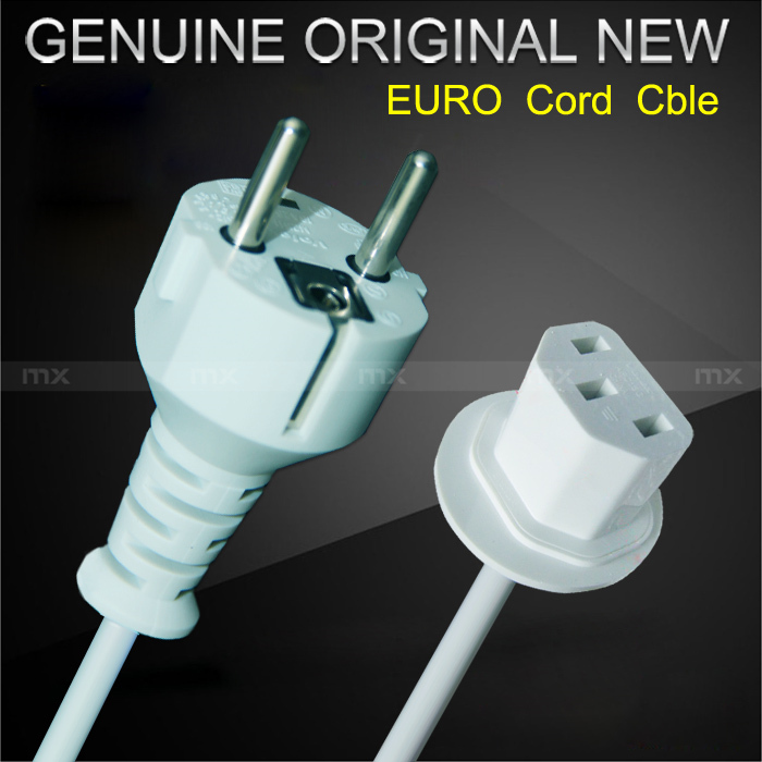 Original Euro EU Extension Power Cord Cable For Apple iMac display free shipping(China (Mainland))