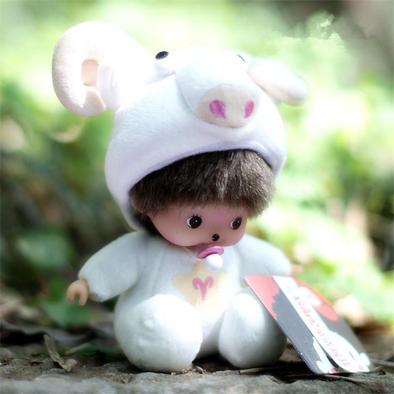 Fairy Tale Monchhichi Monkey Stuffed Plush Doll 15CM Doll Toys 12 Constellations Aries Great New Fashion Chidren Gift<br><br>Aliexpress
