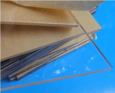 2.6mm transparent plastic sheet / acrylic plexiglass model plate(China (Mainland))
