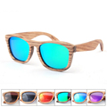 High Quality Fashion Design 100 Whole Handmade Wood Sunglasses Men Polarized Fishing Sun Glasses For Mens