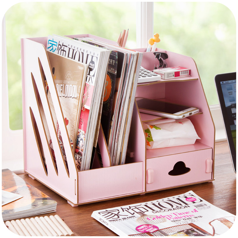 DIY Wooden Drawer Storage Box Organiser Cosmetic Stationery (SIDE ...