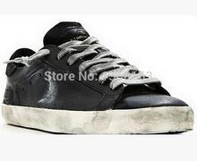 Золотой гусь кроссовки суперзвезда мужчины женщины низкая вырезать обувь кроссовки G23U590 A6