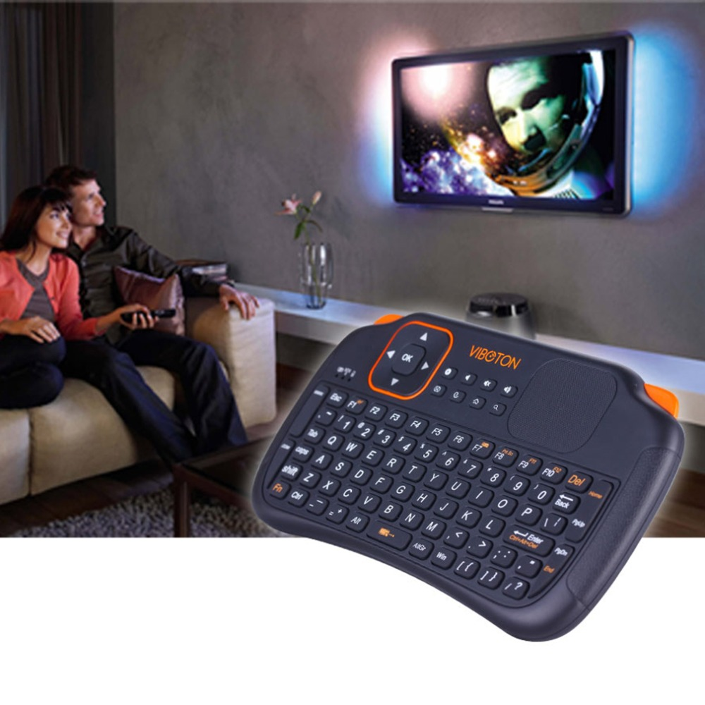 Hot 2.4G Fly Air Mouse Russian English Wireless Gaming Keyboard Touchpad Combos Remote For Android Mini PC Smart TV Box Computer(China (Mainland))