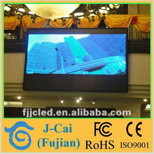 High brightness of small led screen display indoor