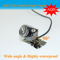100 HD CCD Free shipping 170 Degree IR Nightvision Waterproof Car Rear view camera Reverse paking