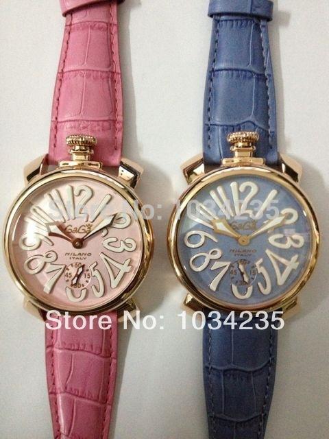 2014 Gaga Watch Pink Series Large Dial Mechanical Watch