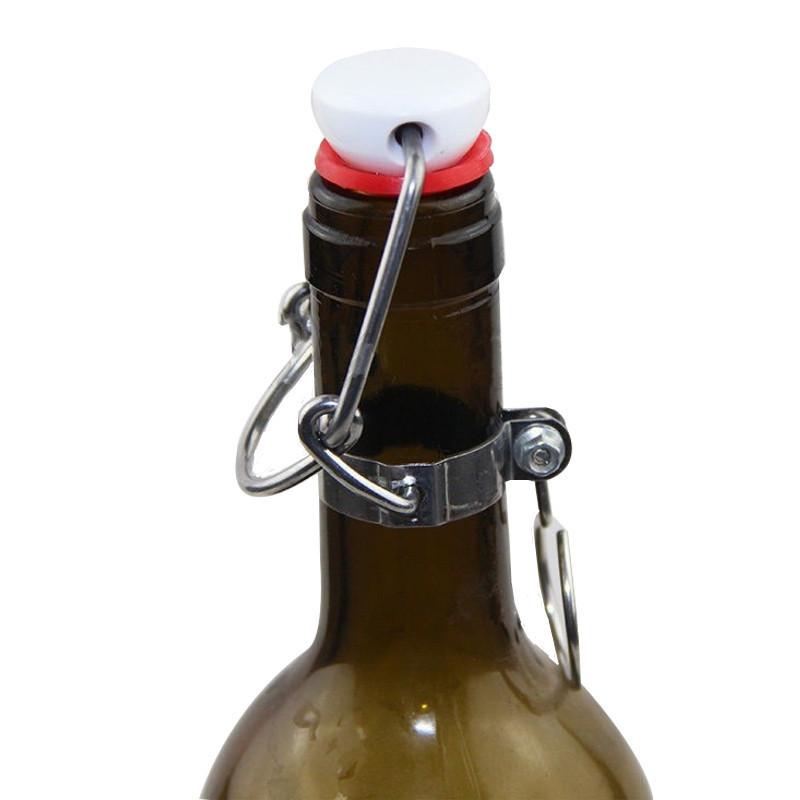 Cap Flip Top Stopper Root Homebrew Beer Bottles Replacement Swing Cap(China (Mainland))