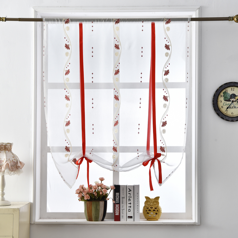 Moderne rideau tissus achetez des lots petit prix for Rideaux courts fenetres