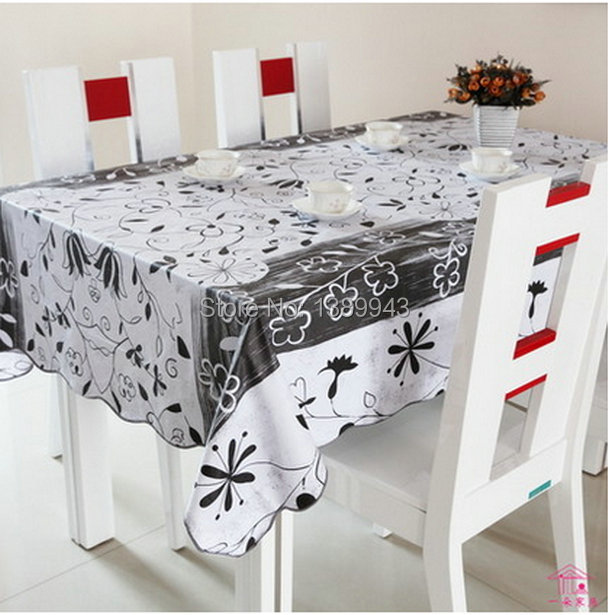 2014 European High grade cheap printed home decorative table cloth waterproof oilproof easy clean pvc tablecloth on sale(China (Mainland))