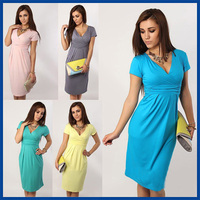 Cotton Maternity Dresses Blouses Shirts Clothing Pregnant Dress Top Clothes For Pregnant Women Plus Size Fashion Summer 2015New