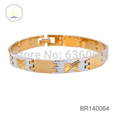 Low Fashion High Quality Chic Bracelets Bangles Copper Bracelet Jewelry Gold Silver Women Men Bracelet SBR140179