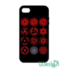 Fit for Samsung Galaxy mini S3/4/5/6/7 edge plus+ Note2/3/4/5 back skins cellphone case cover All Sharingan Eyes Naruto