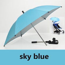 Buy Baby Stroller Accessories yoya yoyo Umbrella Colorful Kids Children Pram Sunshade Parasol Adjustable Folding Chair for $15.95 in AliExpress store