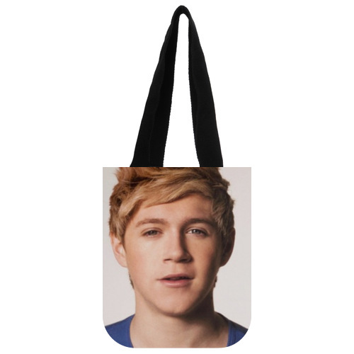 Stylish Canvas Tote Bag Customized Popular Band One Direction Niall Horan Tote Bag 03(China (Mainland))