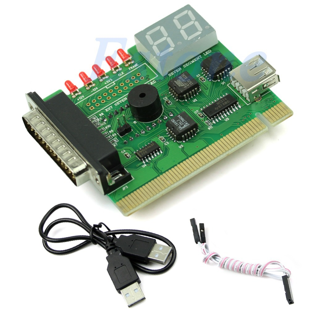 New USB PCI PC Notebook Laptop Analyzer Diagnostic Motherboard POST Card(China (Mainland))
