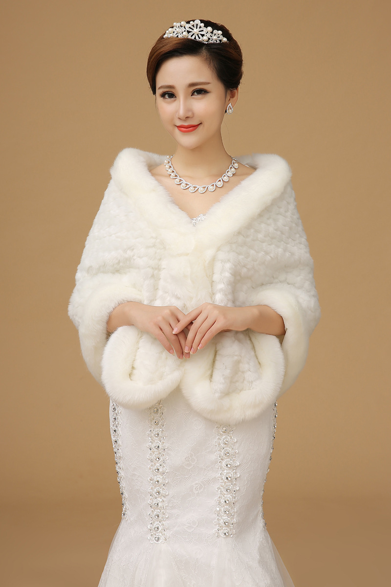 12 1 for Winter shawls for wedding dresses
