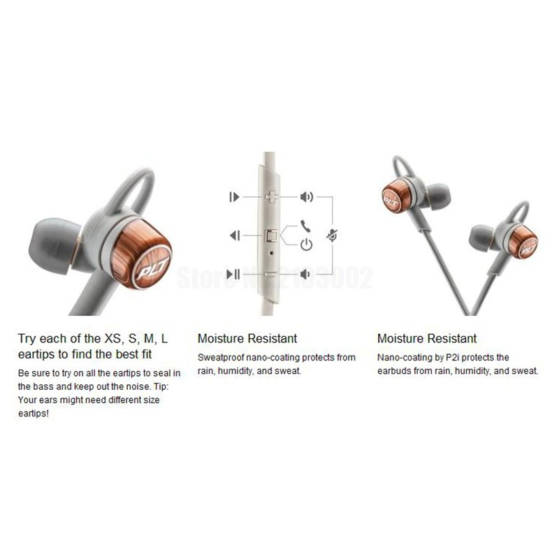 Fashion earphones BackBeat GO 3 sport Wireless Headphones – Copper Grey and Gobalt Black with Charge Case optional will in stock
