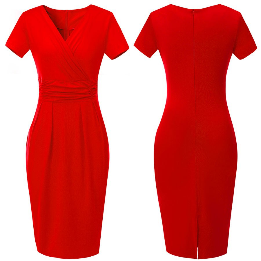 Red Work Dresses