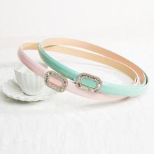 Brand New South Korea High Quality Rhinestone women's belt Fashion luxury belt temperament Accessories