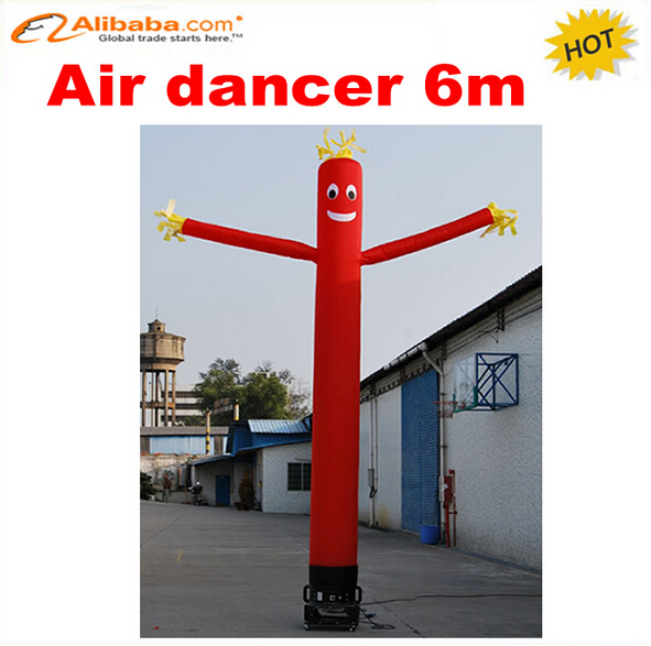 6m one leg inflatable air dancer for advertising,most popular inflatable advertising dancing man(China (Mainland))