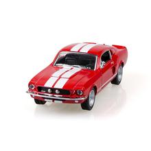Kinsmart Mustang Shelby GT500 1967 Красный 1/38 модели сплава модель автомобиля назад вытяните назад автомобиль детские игрушки автомобиля Дети игрушка
