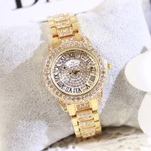 2016 Arrival Famous Brand Custom Watch Women Luxury Austrian Crystals Watch Lady Silivery Rhinestone Watch Bangle Bracelet