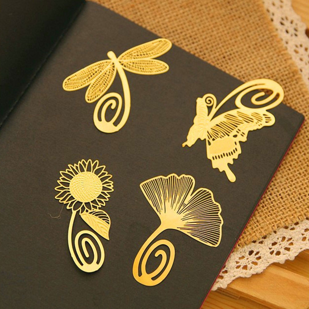1PC New Cute Kawaii Beautiful Chinese Style Vintage Exquisite Metal Bookmark for Book Creative Item Gift Package Free shipping(China (Mainland))