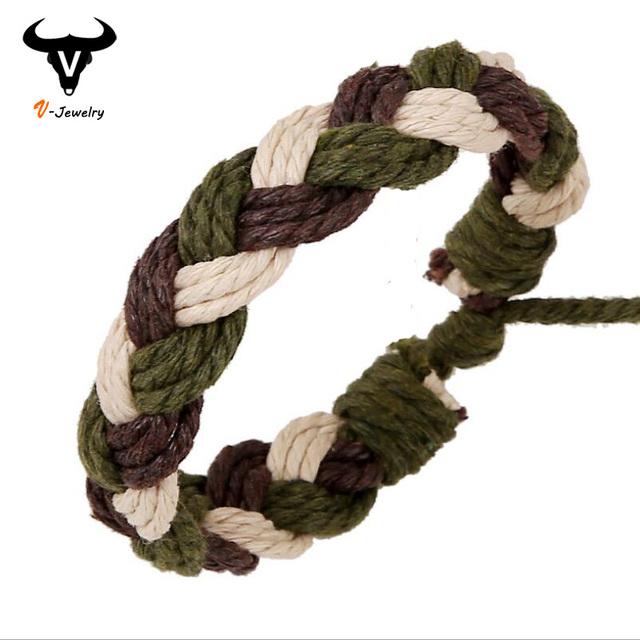 Простой 2016 новинка браслет манжеты браслет обруча ручной плетеный сеть браслет ...