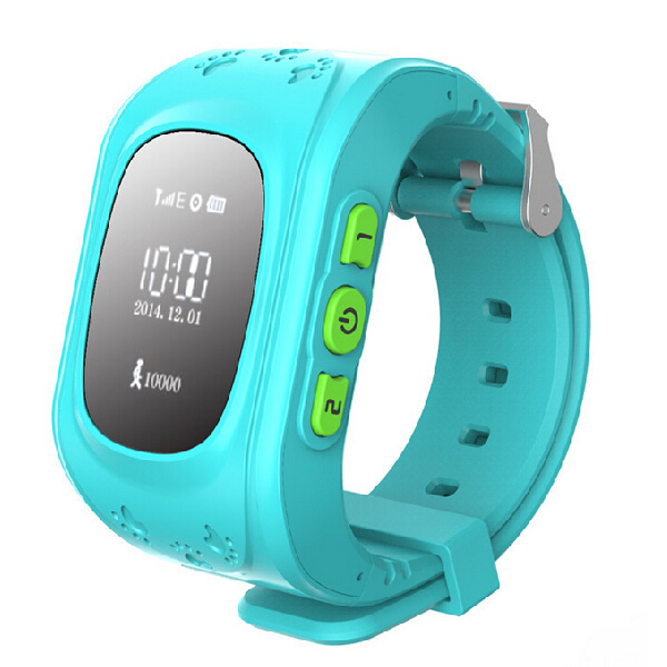 2015 GPS Trackers for Kids Child Older Smart GPS Watch Bracelet Wristband Positioning of Mobile Phone Anti-lost Personal Tracker(Hong Kong)