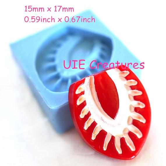 Free Shipping 165LBP Fruit Silicone Push Mold Fondant Cake ...
