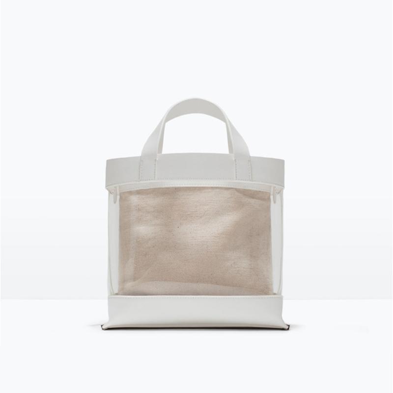 MORESHINE women Bucket bag PVC Shoulder bag Ladies Summer transparent design Beach bag Female Linen Inner pocket Crossbody bags(China (Mainland))