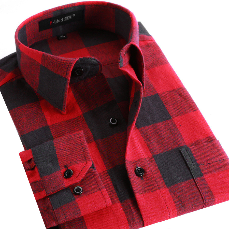 Online buy wholesale flannel plaid shirt from china for Buy plaid shirts online
