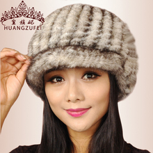 2015 Sale Boinas Masculinas Royal Princess Fall Fashion Warm Imported Mink Knitted Hats For Peaked Cap Skin Hat For Children(China (Mainland))