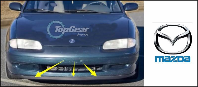 Передняя юбка обвеса Mazda MX/3 MX 3 MX3 AZ3 az/3 Precidia /top Gear