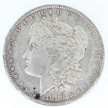 Morgan 1889 copy coins silver plated united states replica coins for only first 30 customers Promotion Cheap!! FREE SHIPPING(China (Mainland))