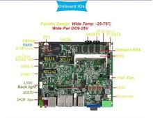 Четырехъядерный процессор I52410 М низкая стоимость mini itx материнская плата with2 * lan