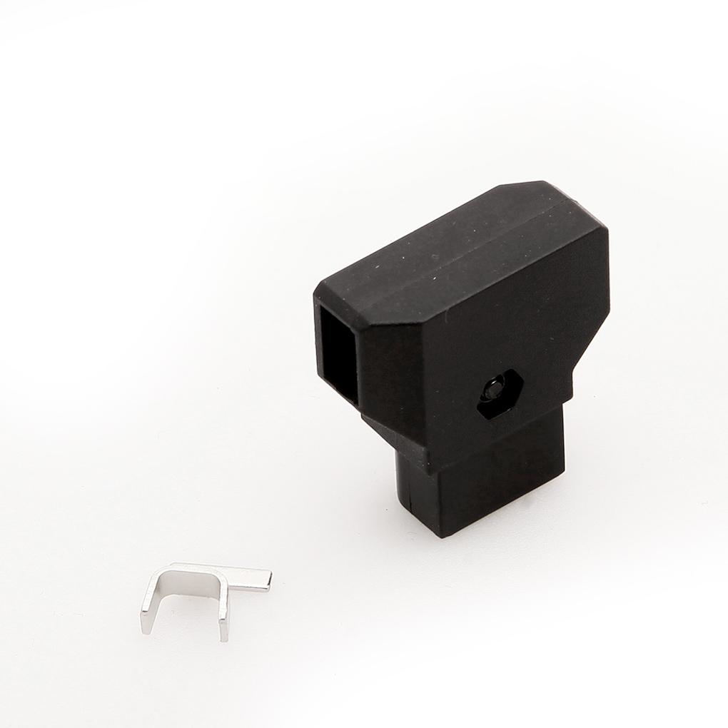 ABS DTAP D-Tap Plug DIY for DSLR Rig power cable V-mount Anton C Battery Male Plug