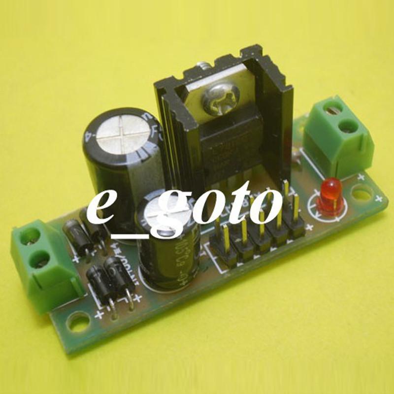 L7815 Step Down 8V-35V to 19V DIY Kit Buck Converter Power Supply Module for Arduino