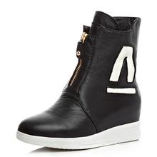 Botas para la nieve de invierno botines zapatos de las mujeres más tamaño de los zapatos 2016 talones de la moda de invierno botas zapatos de moda(China (Mainland))