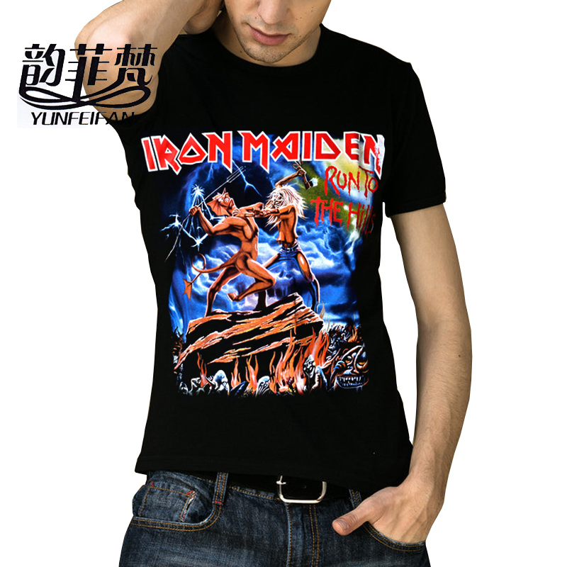 Online buy wholesale metal heavy from china metal heavy for Thick t shirts brands