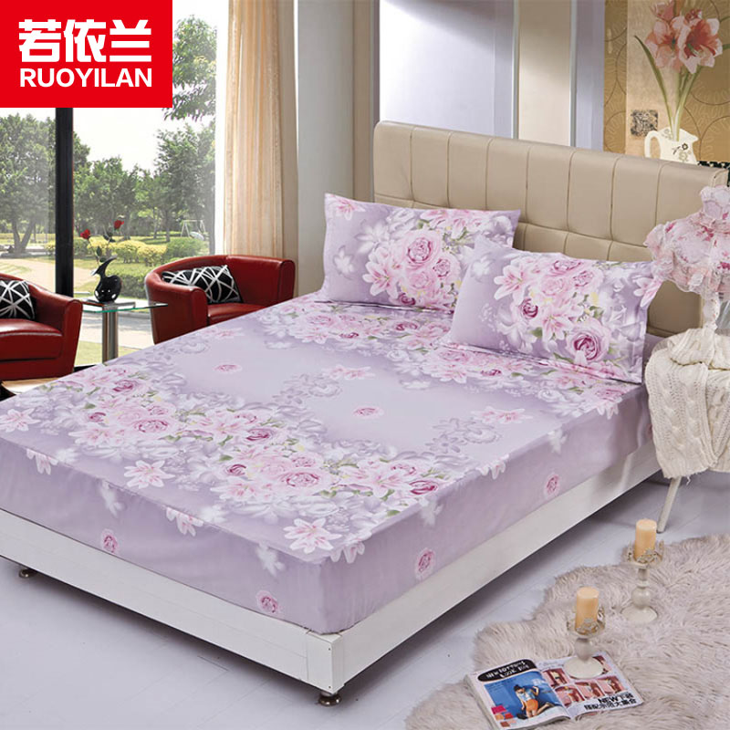 home bedding sheet printing fitted bed sheet with 360 degree elastic cord for children adults no. Black Bedroom Furniture Sets. Home Design Ideas