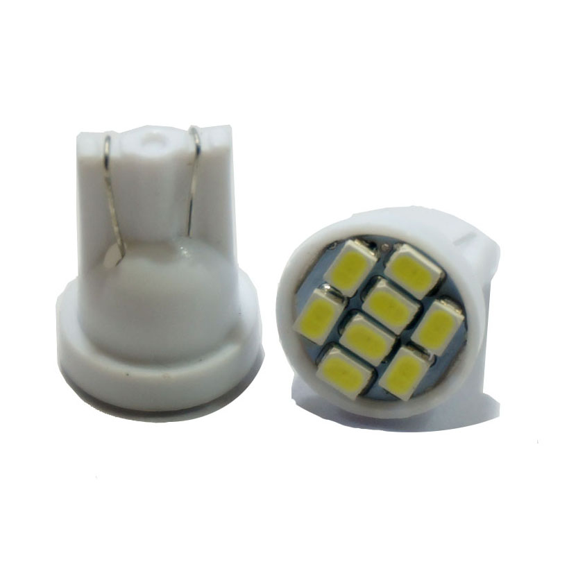 100pcs Promotion Led T10 8 smd 1206 8leds 8SMD Car Interior Light 194 168 192 W5W 3020 Auto Wedge Lighting DC 12V Wholesale(China (Mainland))
