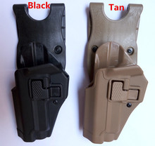 BlackHawk Style Serpa Military Army Tactical belt holster fits for SIG P220 P226 226 Polymer material  left hand high quality