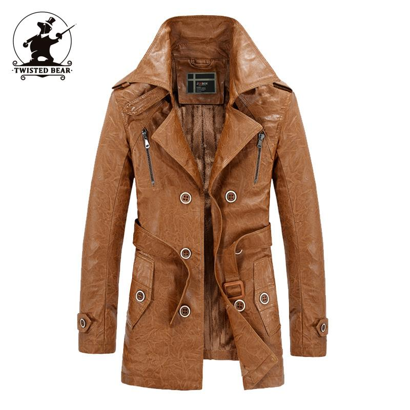 popular men leather trench coat buy cheap men leather trench coat lots from china men leather. Black Bedroom Furniture Sets. Home Design Ideas