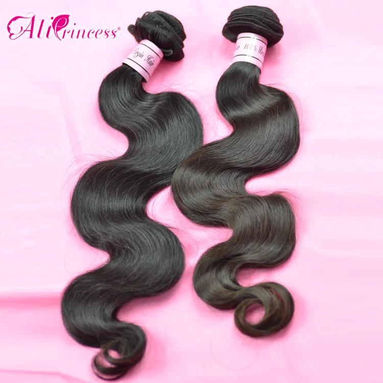 Brazilian Hair,Body Wave weave,12 inch-30 inch,4pcslot, Virgin Hair Extension,human hair wefthair brazil,1b, - Princess products co.,LTD store