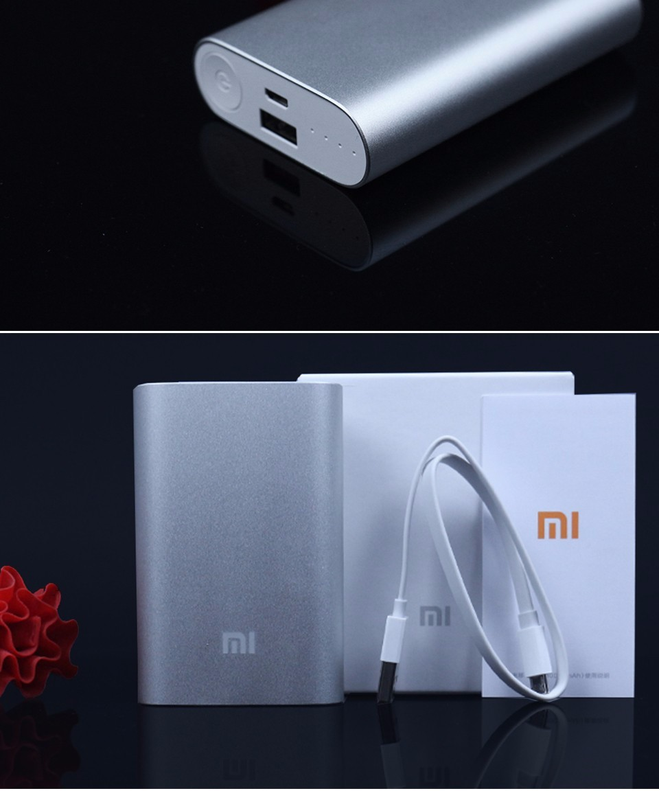 Original Xiaomi 20000mAh/10000mAh Power Bank External Battery Pack Portable Mobile Charger For Mp4 Player All Phone Chargers