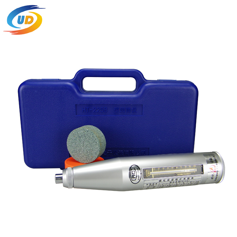 HT-225 High Quality Resiliometer Concrete Rebound Hammer Tester Concrete Rebound Test Schmidt Hammer (Engineering Plastics Case)(China (Mainland))