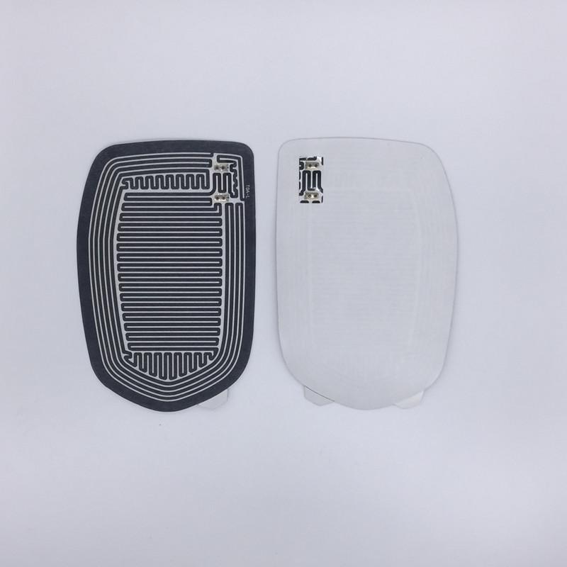 2015 горячая распродажа стекло зеркала с подогревом мат Defoggers удалить мороз подходит для большинства DC 12 В автомобиля автомобиль плюс
